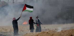 Israeli forces attack Gazan flotilla, peaceful rally