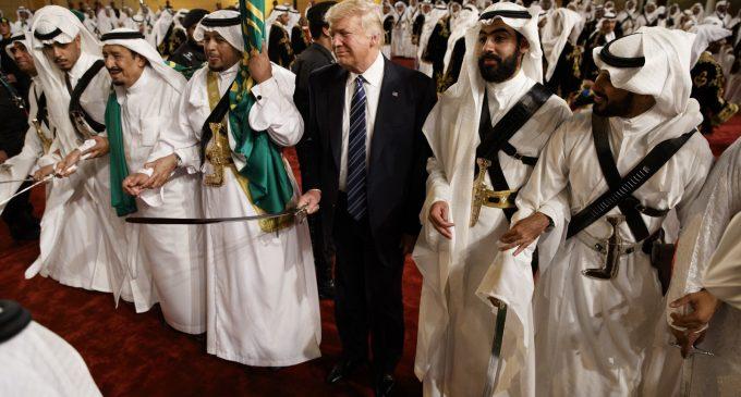 'Groveling' Before Murderous Kingdom, Trump Complains Saudis Deemed 'Guilty Until Proven Innocent' Like Kavanaugh