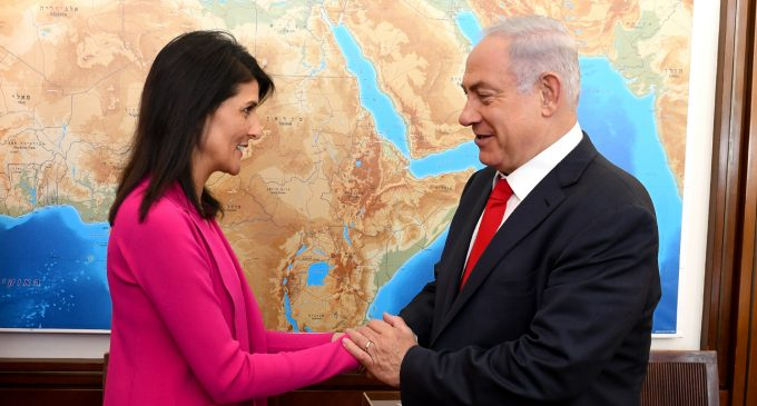 UN 'Sheriff' Nikki Haley Championed Israel at the Expense of the US