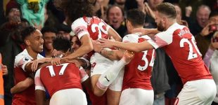 English premier league: Arsenal 3-1 Leicester city