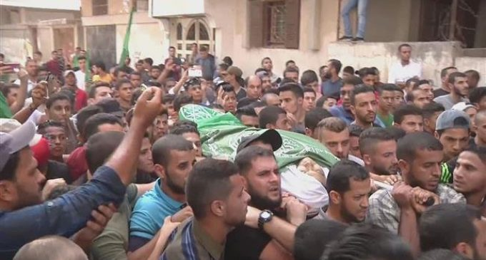 Palestinians in Gaza bury another young victim of Israel's brutality