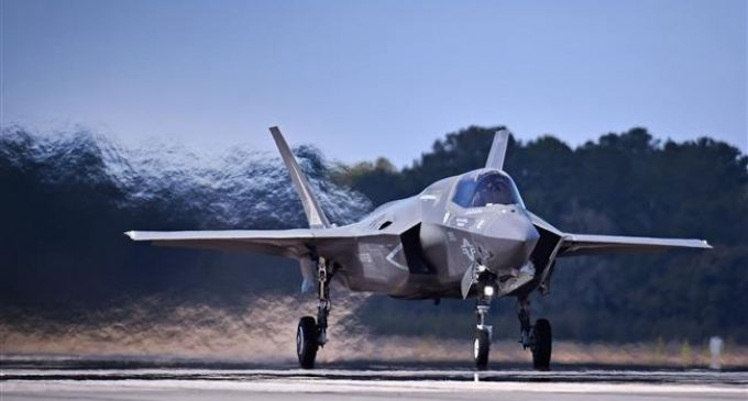 Dozens of US F-35 fighter jets grounded over fuel problem