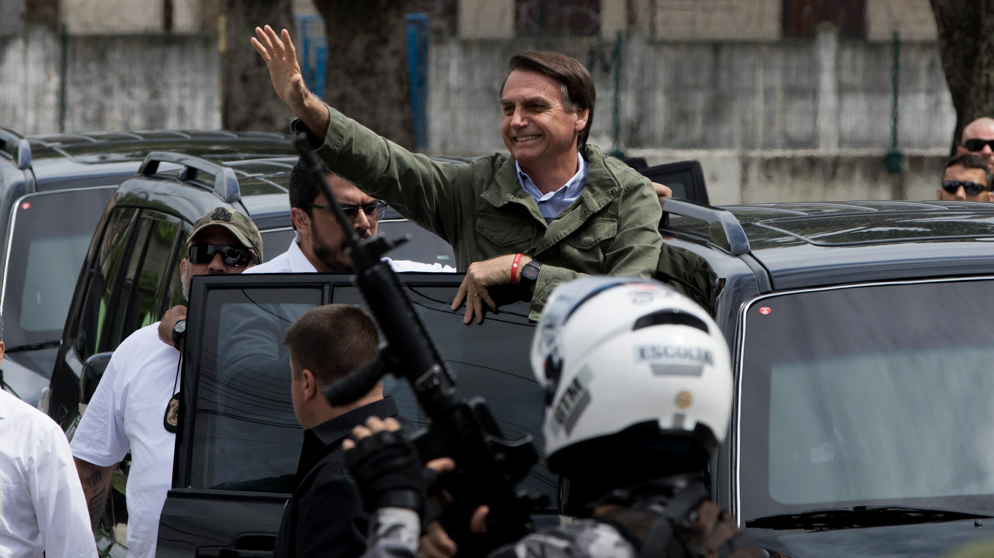 Welcome to the Jungle: Jair Bolsonaro Brings Perfect Storm of Fascism and Neoliberalism to Brazil