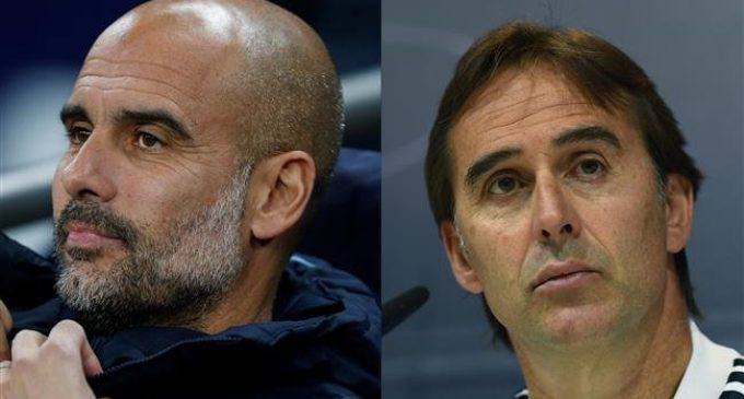 Guardiola expresses sympathy for Lopetegui sacking from Real Madrid