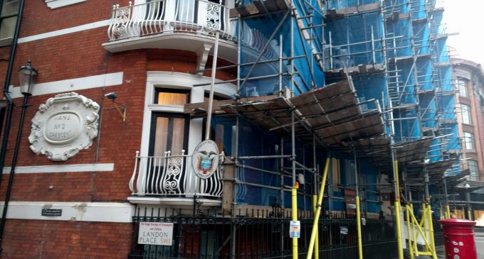 Attempted Break-in at Ecuador Embassy Raises Concerns for Safety of Julian Assange