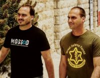 Photo of Brazil President-Elect Bolsonaro's Sons Wearing IDF and Mossad Shirts Goes Viral