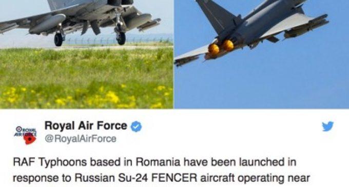 "Fake news: Nato's ""interception"" of Russian planes, by Valentin Vasilescu"