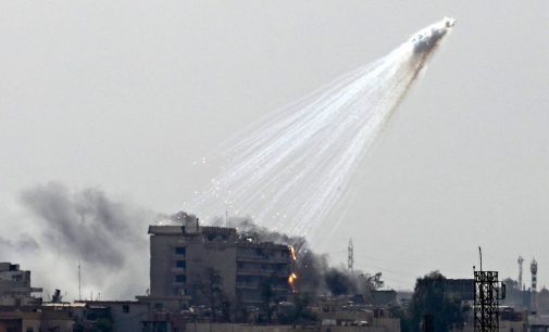 US Uses Banned White Phosphorus Bombs in Syrian City for the Fourth Time in Two Months