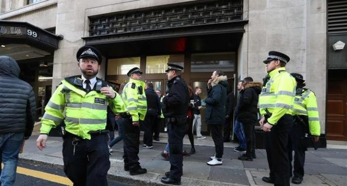 British police warn unnamed Saudi of 'life-threatening danger'