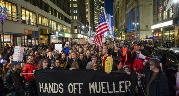 US activists stage nationwide protests to protect Mueller probe