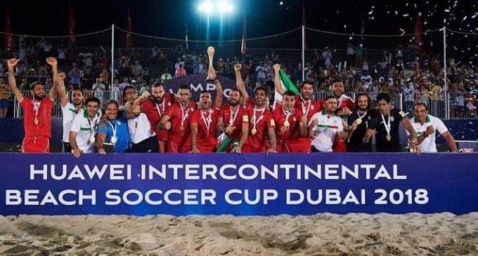 2018 Dubai Beach Soccer Cup: Iran defeats Russia 4-2 in Final