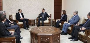 Iran, Syria vow to keep anti-terror cooperation, counter US bids to spread chaos