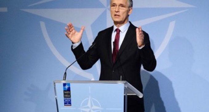Jens Stoltenberg at the NATO Industry Forum, by Jens Stoltenberg