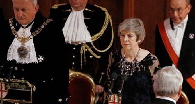 Theresa May at the Lord Mayor's Banquet, by Theresa May