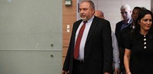 Avigdor Lieberman, Israeli Minister of Defence, resigns