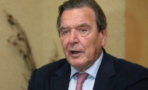 Gerhard Schröder denounces US occupation of Germany