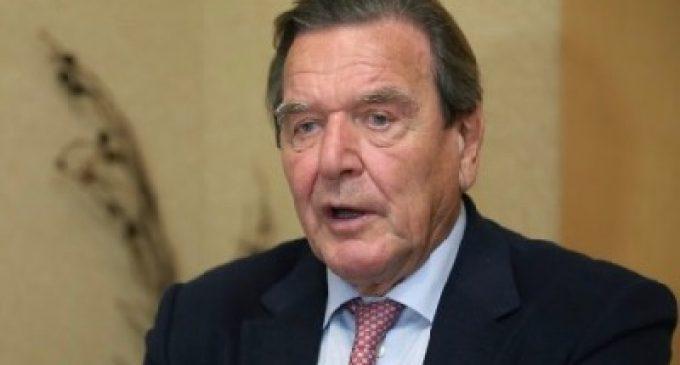 Gerhard Schröder denounces US occupation of Germany