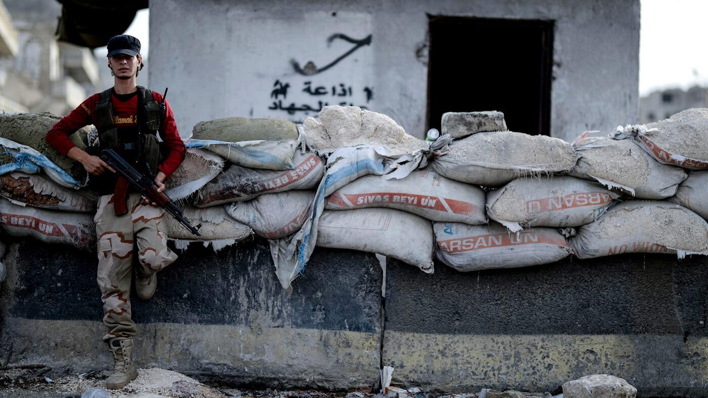 Idlib's Rebels Unite Under Al Qaeda Banner While Syria Prepares Offensive