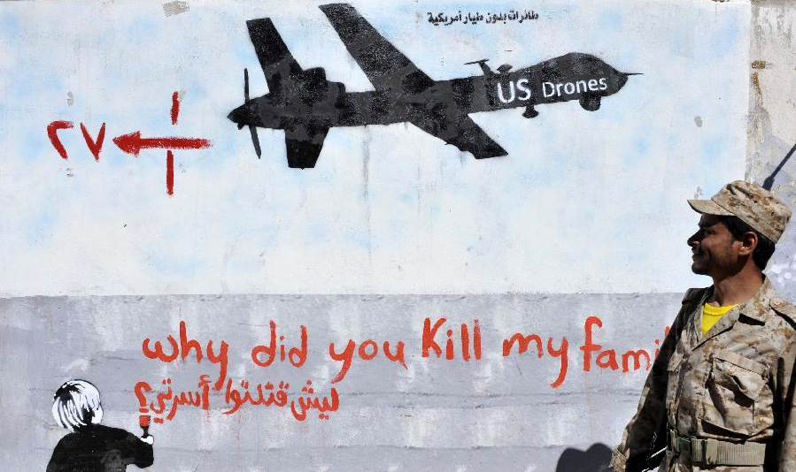 Report: 1 in 3 Deaths Caused by US Drone Strikes this Year in Yemen Were Civilians