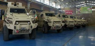 Iran unveils Mine Resistant Ambush Protected military vehicle