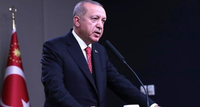 Erdogan accuses Soros of aiding Turkish philanthropist