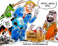 US Spy Agencies Sued for Failing To Warn Khashoggi of Threat