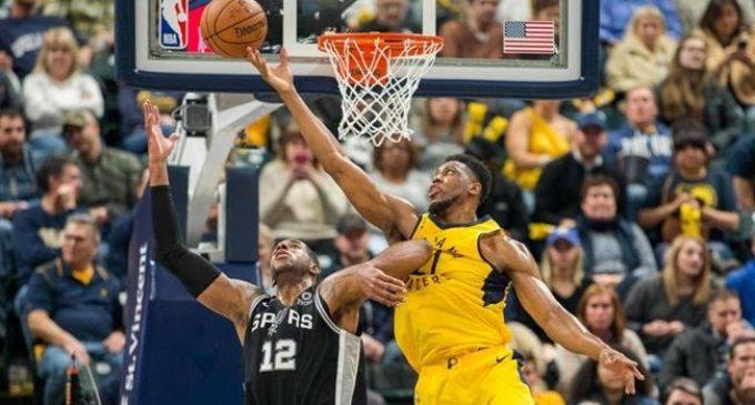 NBA: Indiana Pacers 100-111 San Antonio Spurs
