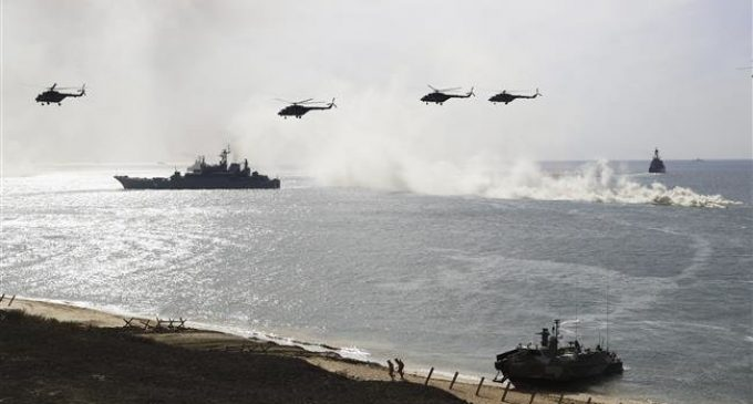 Russia and Ukraine involved in Black Sea naval standoff