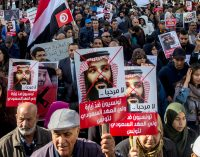 In First Venture from Home Since Khashoggi Killing, MBS Is Greeted by Angry Tunisian Protesters
