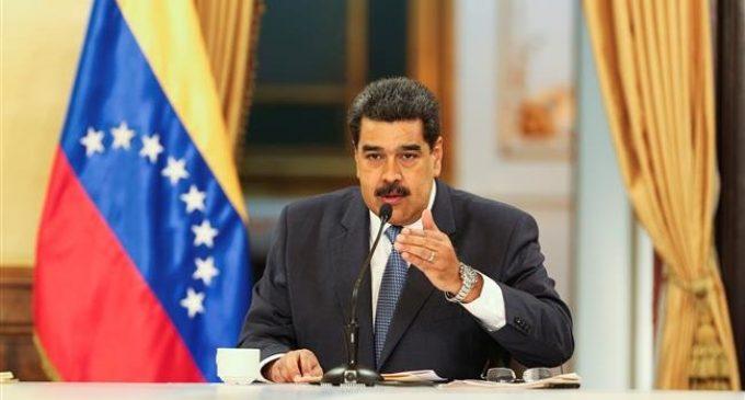 Maduro says Trump persecutes Venezuelans