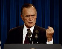In 1991 George  H.W. Bush Took on the Israel Lobby, and Paid for It