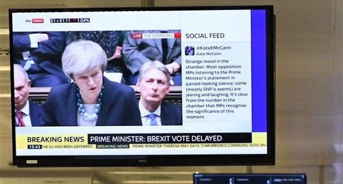 Theresa May delays vote on Brexit deal