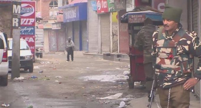 Kashmir shuts to mark International Human Rights Day