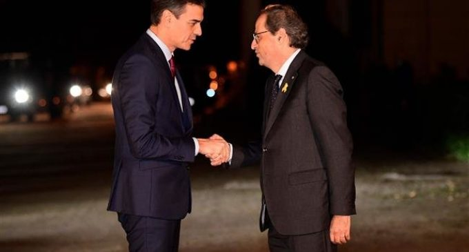 Spanish PM, pro-secession leader agree to find solution to Catalonia crisis