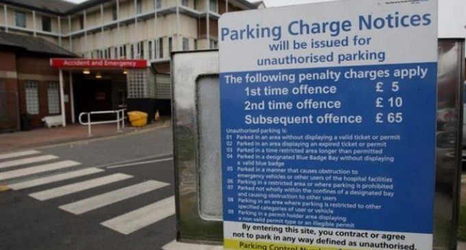 UK hospital staff, visitors massively charged for car parking: Report