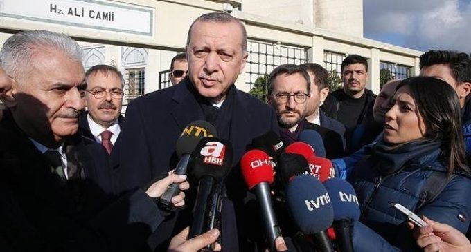 Turkey will have no business in Syria's Manbij if YPG leaves, says Erdogan