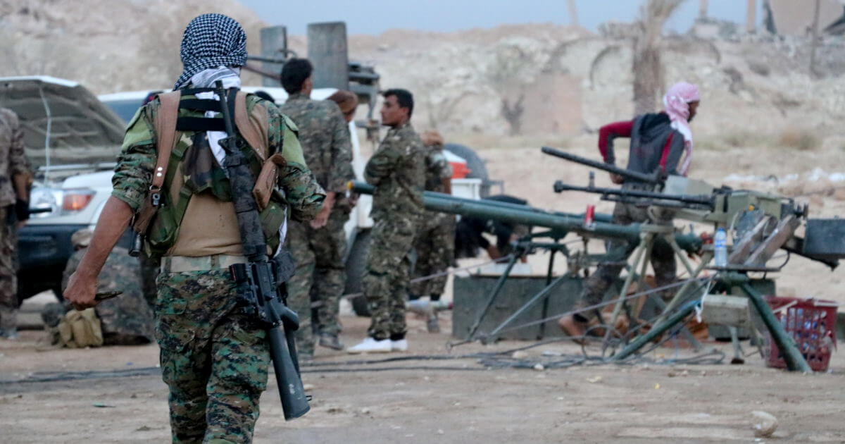 US Delivers Weapons & Ammo To Kurds Ahead of Syria Withdrawal