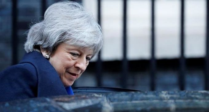 UK PM warns Brexit can be cancelled if parliament rejects her deal