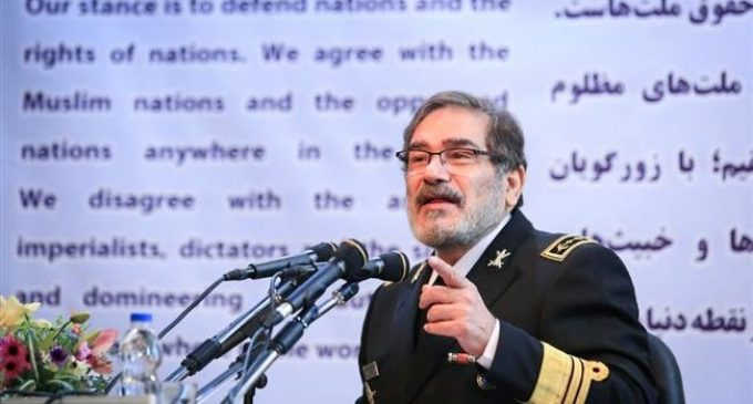 Iran security chief: US suffered strategic defeat in Syria