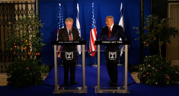 With Golan at Stake, Netanyahu, Bolton Set Trump Straight on US Syria Withdrawal Plan