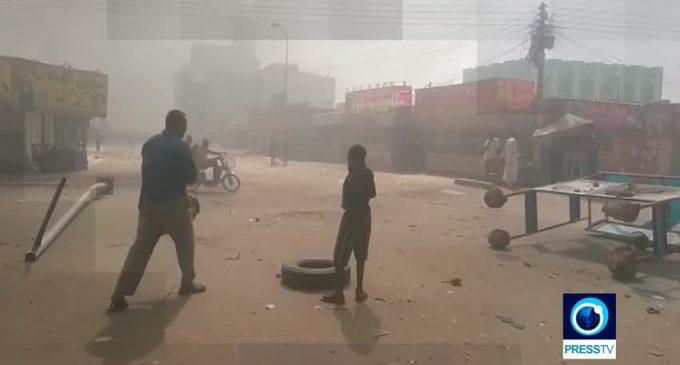 UNREST IN SUDAN