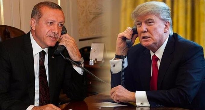 Trump, Erdogan talk Syria 'safe zone' amid war of words over Kurdish militants