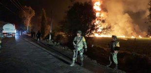 Pipeline blast in Mexico leaves 21 dead, 71 injured