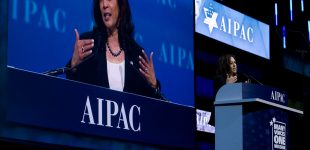 Kamala Harris Dons Progressive Mantle in Public, Strips it Off in Private as She Courts Israel Lobby