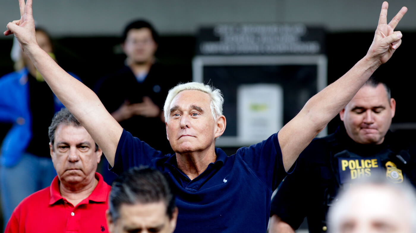 Roger Stone Arrest: Trump Associate and Dirty Trickster Indicted by Special Counsel