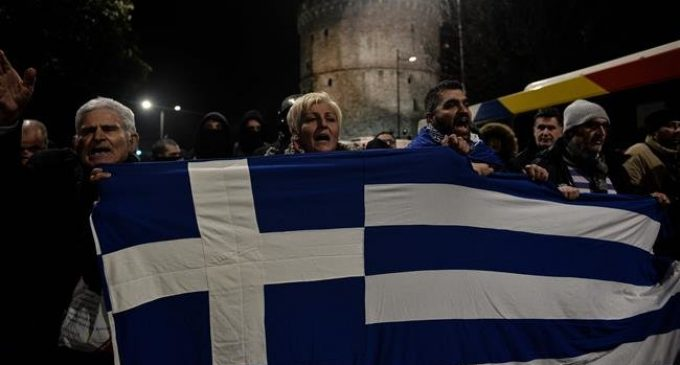 Clashes erupt in Greece amid protests over Prespes deal