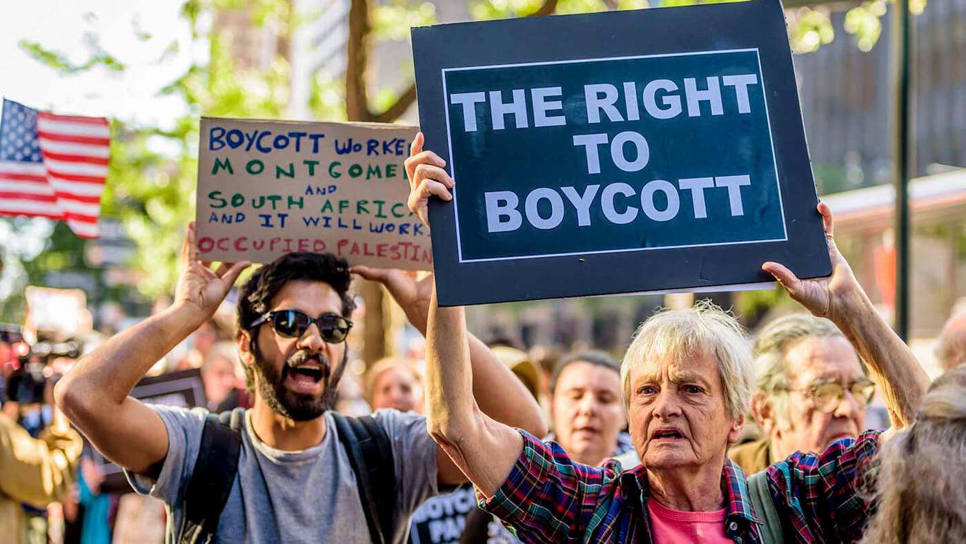 The US Senate Just Quietly Advanced A Free Speech Busting Anti-BDS Bill