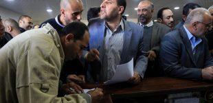 Resumption of tension in Palestine