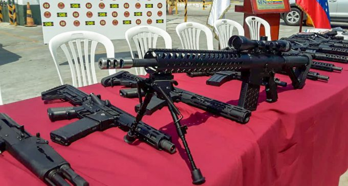 Venezuela Authorities Discover Cache of US-Made Weapons Amid US's Slow-Rolling Coup