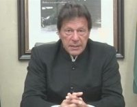 Pakistan's Khan urges dialog on Kashmir, warns India against military action